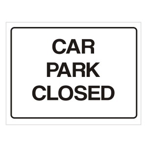 Car Park – Closed