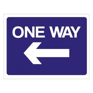 One Way – Left