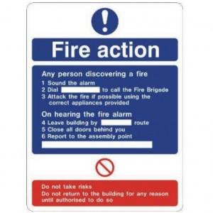 Fire action standard