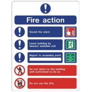 Fire action EC