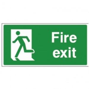 Final fire exit left