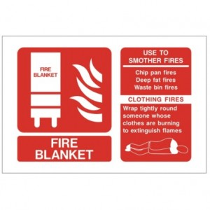 Fire Blanket ID Sign